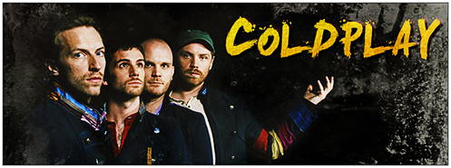 Coldplay's Official Website!
