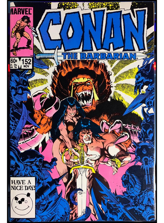 Conan the Barbarian #152