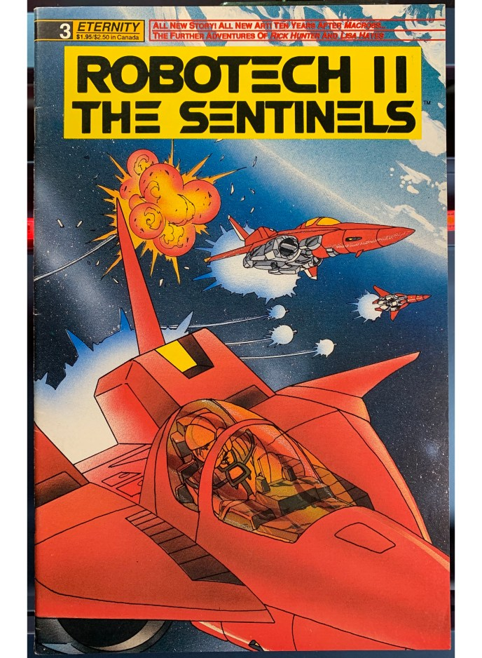 Robotech II The Sentinels #3