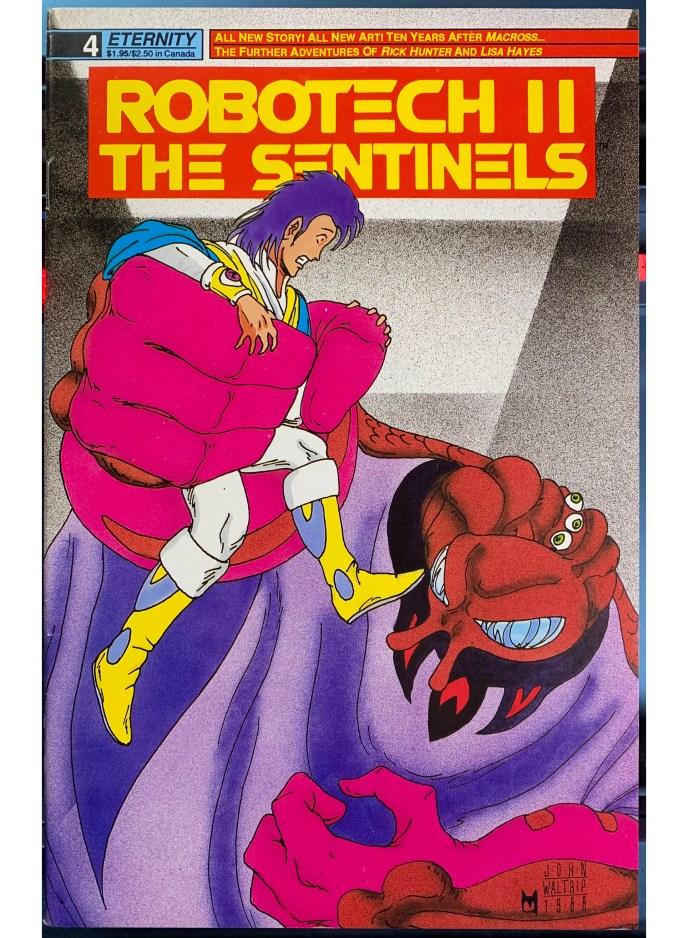 Robotech II The Sentinels #4