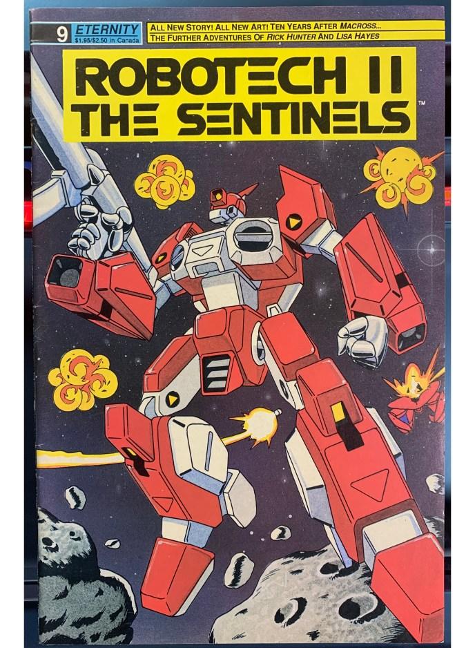 Robotech II The Sentinels #9