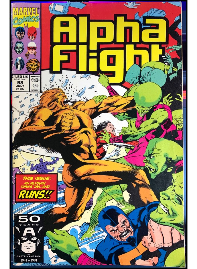 Alpha Flight #98