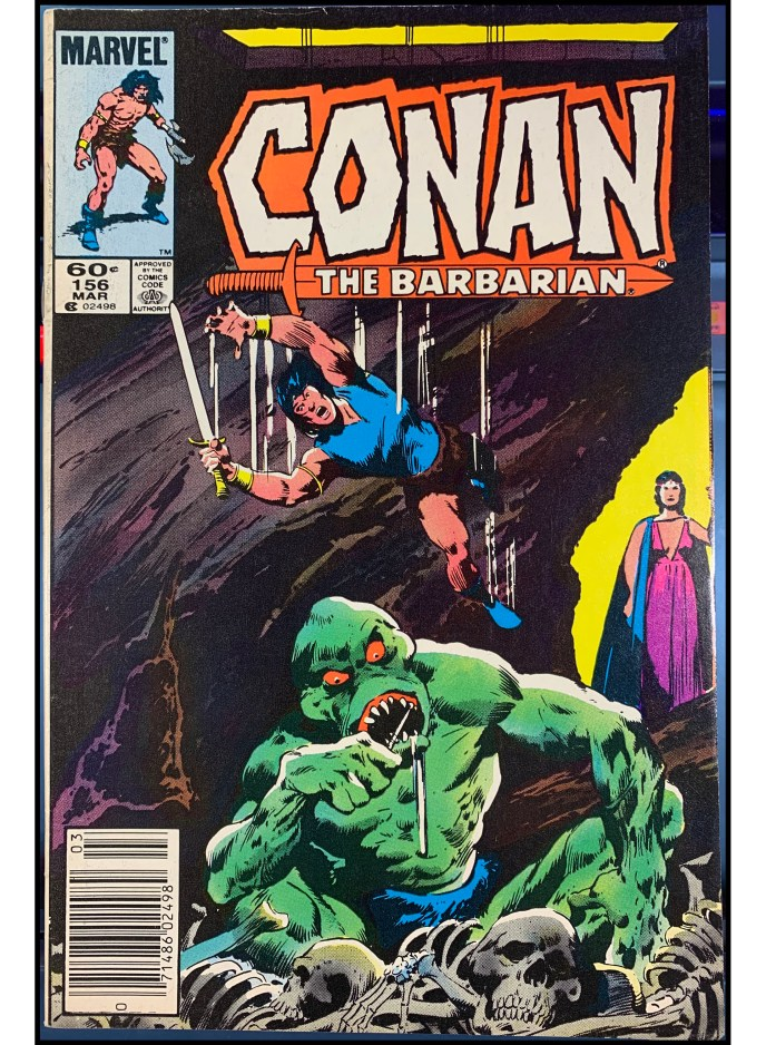 Conan the Barbarian #156