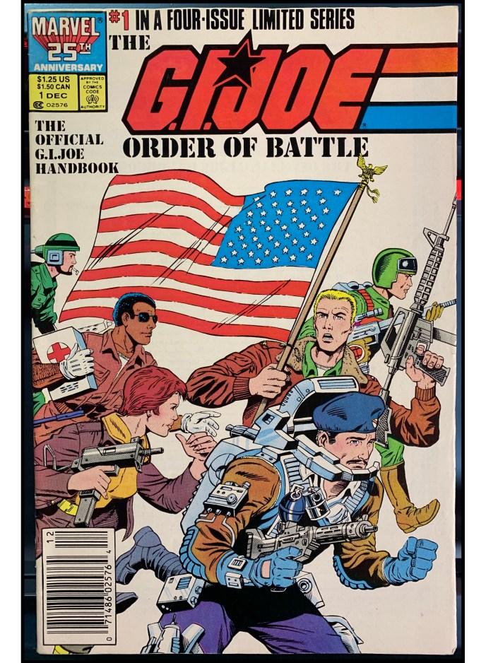G.I. Joe Order of Battle #1