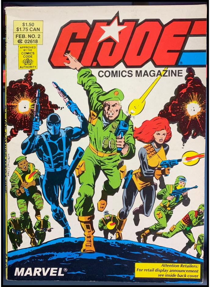 G.I. Joe Comics Magazine #2