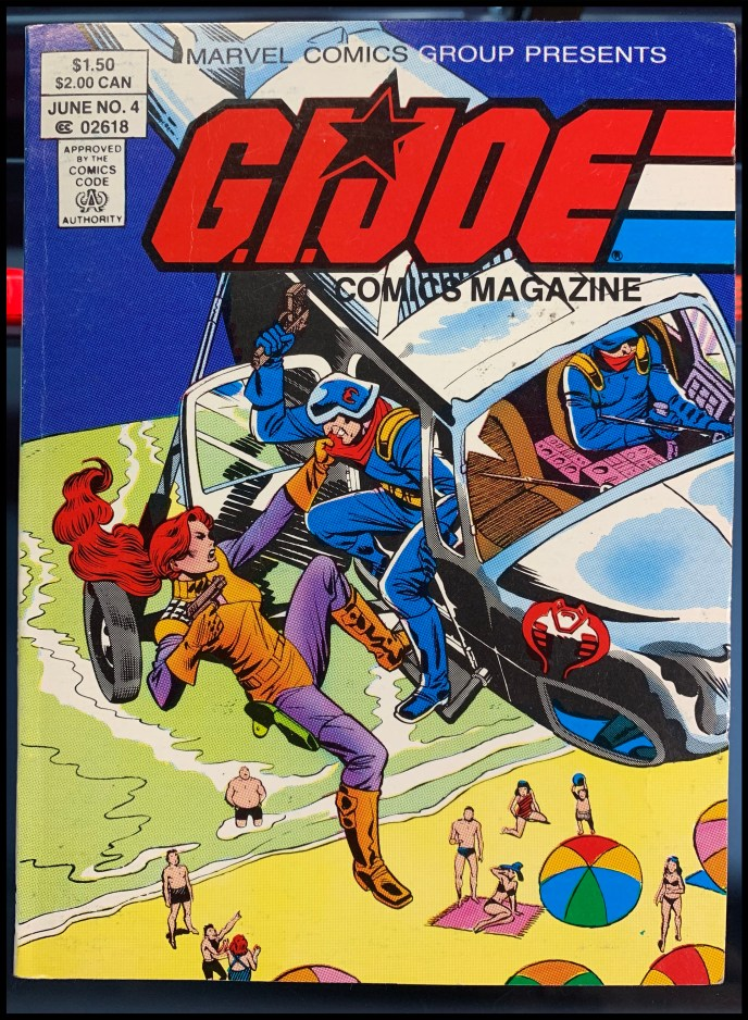 G.I. Joe Comics Magazine #4