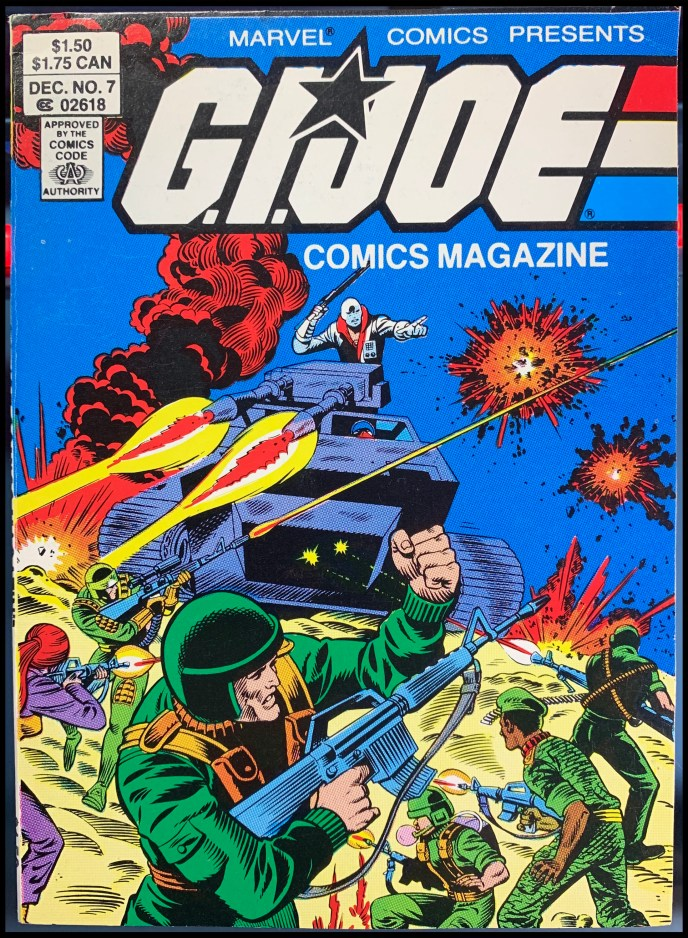 G.I. Joe Comics Magazine #7