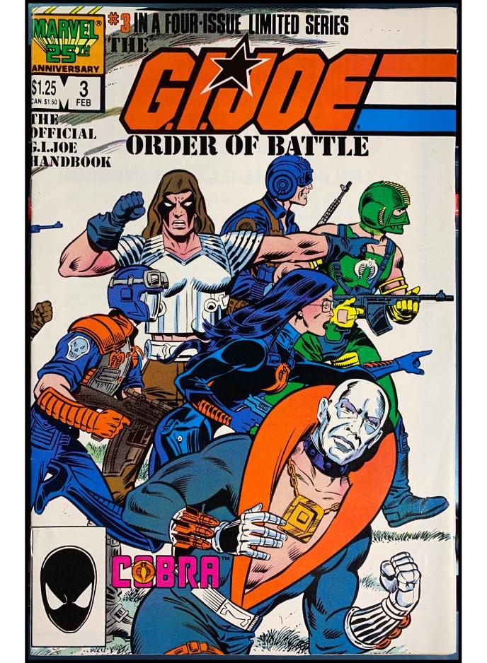 G.I. Joe Order of Battle #3