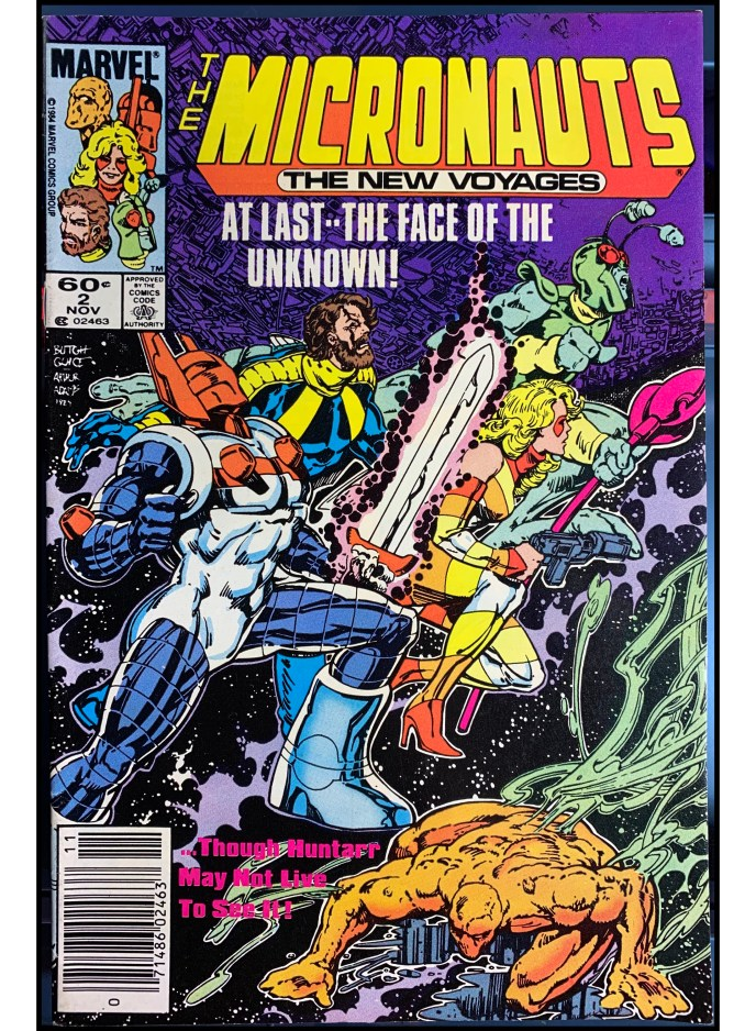 Micronauts The New Voyages #1