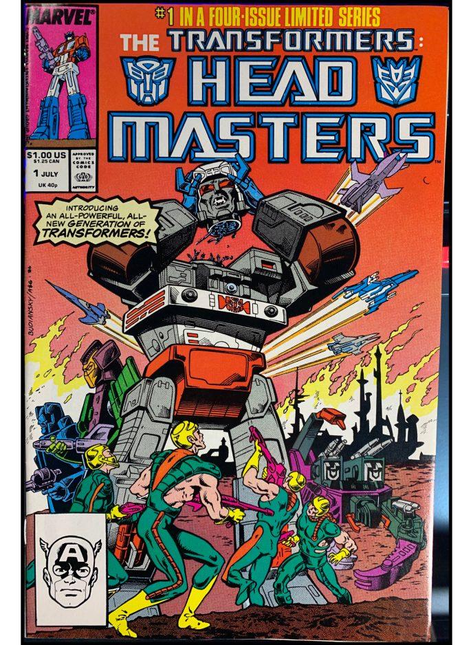 Transformers Head Masters #1
