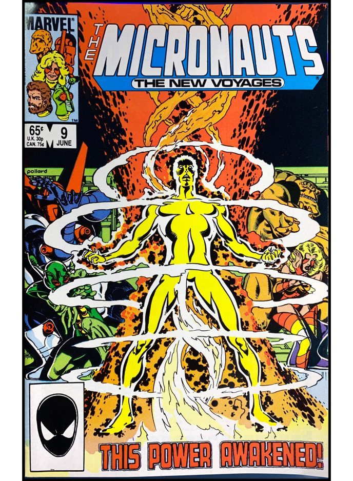 Micronauts: The New Voyages #9