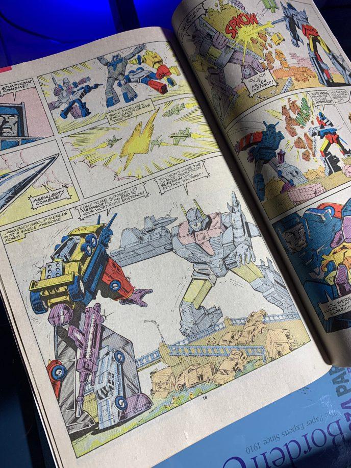 Transformers comic book #22 image 6