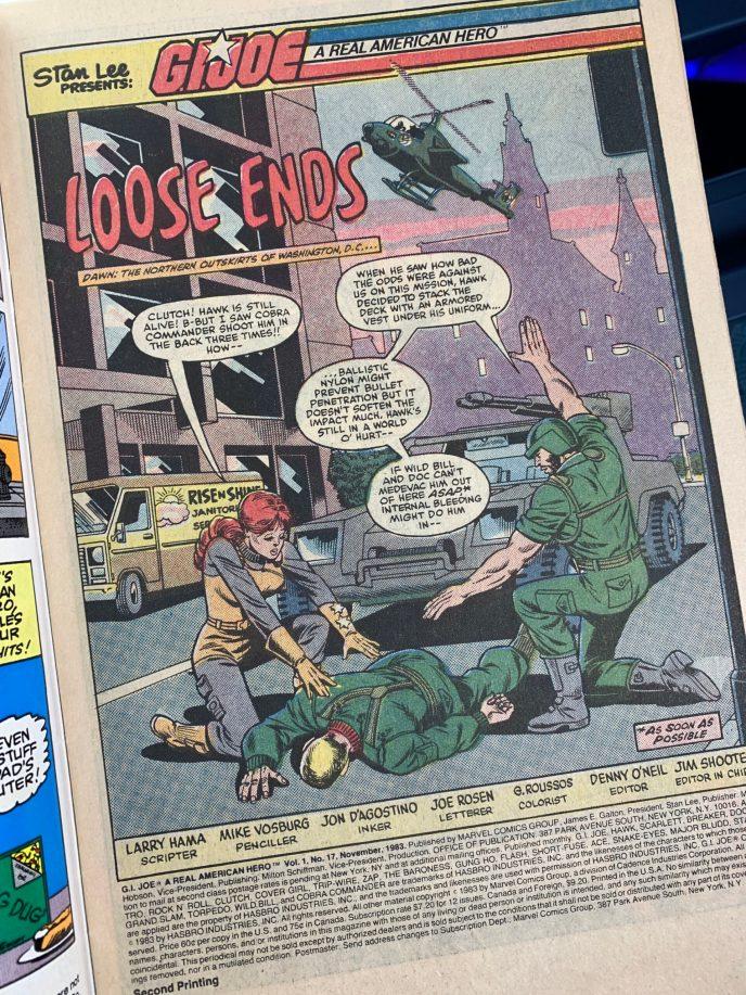G.I. Joe Comic Book 17 image 1