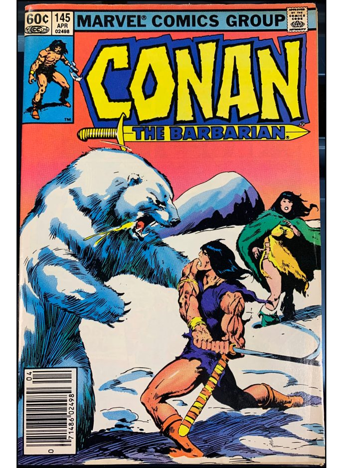 Conan The Barbarian #145