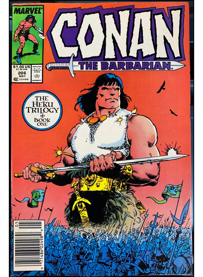 Conan the Barbarian #206