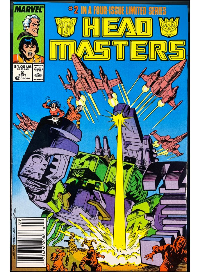 Transformers Head Masters #2