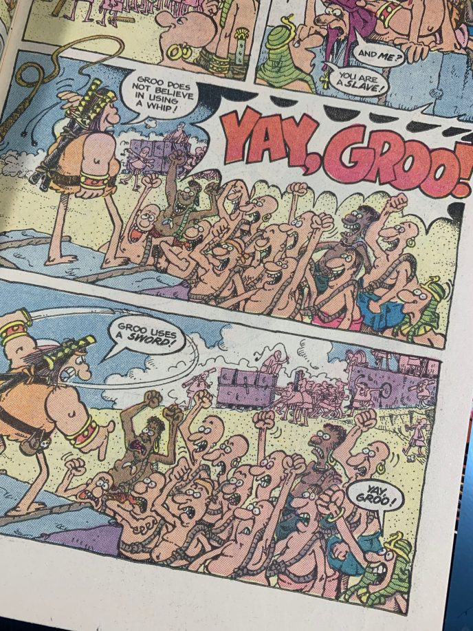 Groo the Wanderer 14 page scan 3