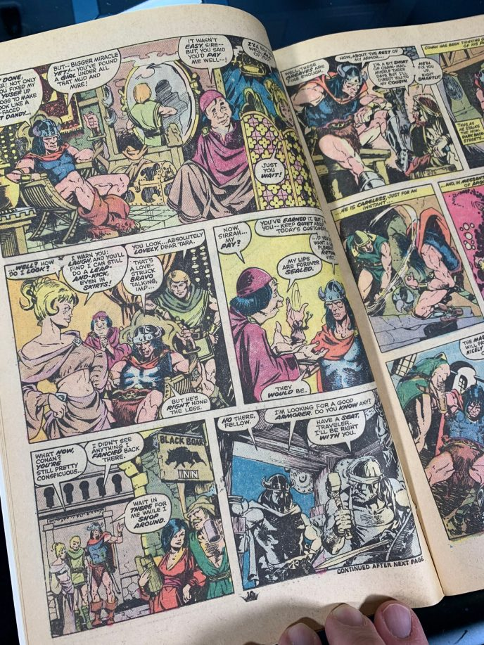 Conan the Barbarian #57 image 5