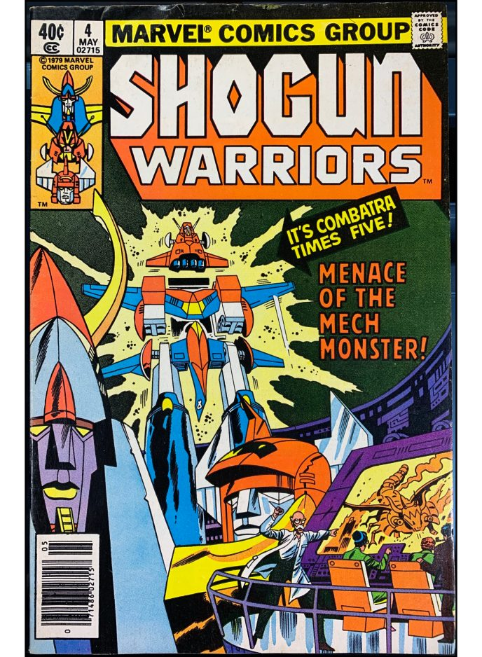 Shogun Warriors #4