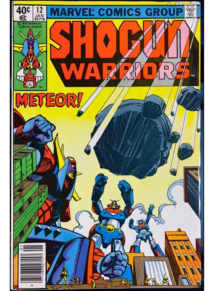 Shogun Warriors #12