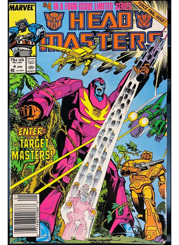 Transformers Headmasters #4