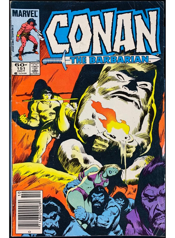 Conan the Barbarian #151
