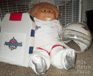 80s Cabbage Patch Kid: Astronaut Outfit
