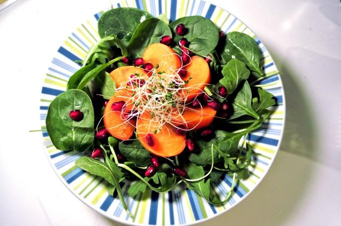 Arugula Pomegranate Salad