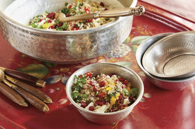 Pomegranate Couscous Salad