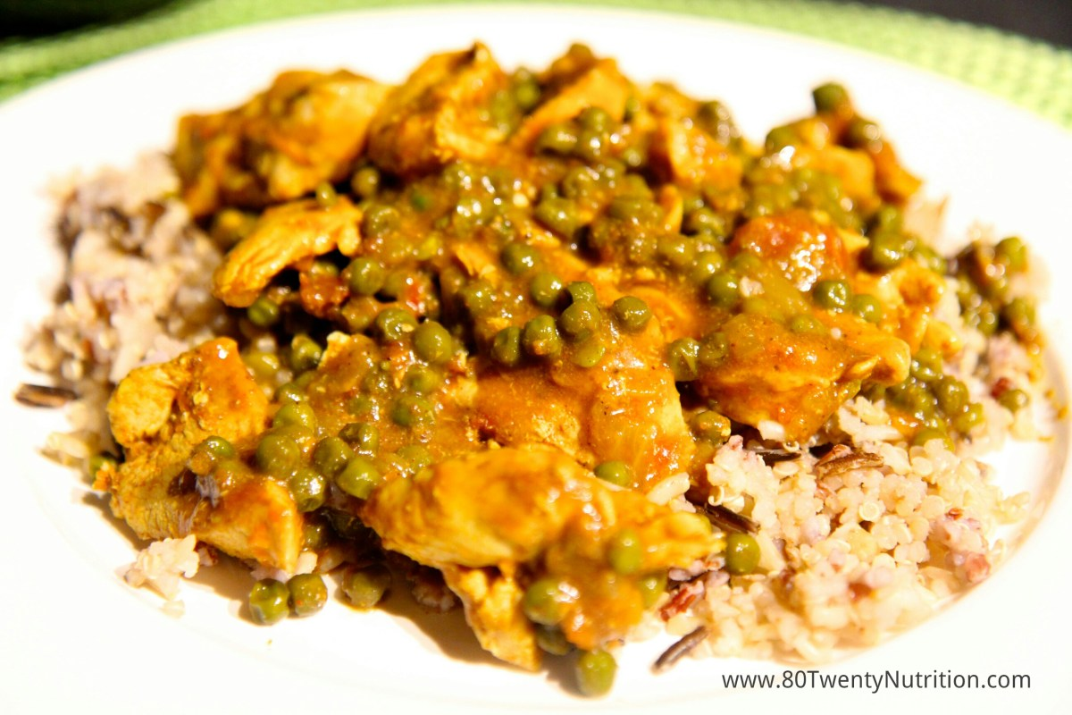 Curry Chicken - Healthy & Simple!