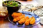 Paleo chicken fingers with almond flour Christy Brissette media dietitian 80 Twenty Nutritio