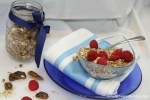 Slow Cooker Vegan Granola Gluten Free - Christy Brissette media dietitian 80 Twenty Nutrition