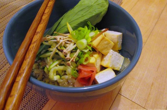 Green Tea Chazuke – Gluten-Free & Vegan
