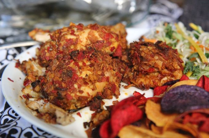 Healthier Fried Chicken with Crunchy TERRA Chip Batter – Gluten-Free!