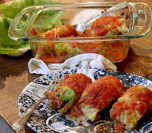 Low Carb Turkey Cabbage Rolls – Paleo and Keto!