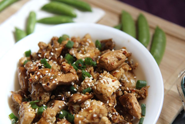 Kung Pao Cauliflower Chicken – Low Carb, Keto, Paleo and Gluten-Free!