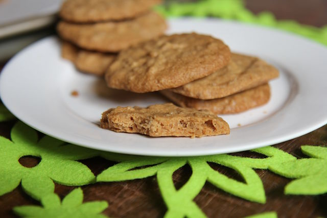 3 Ingredient Peanut Butter Cookies - Vegan, Gluten-Free & Low Carb!
