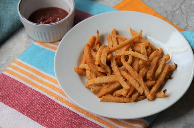 Jicama Fries – Baked Low Carb Keto French Fries