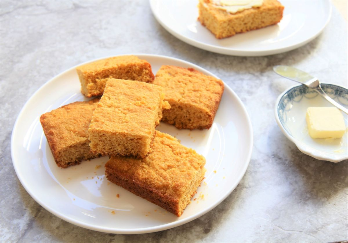 Healthy Cornbread - Vegan, Gluten-Free and Delicious!
