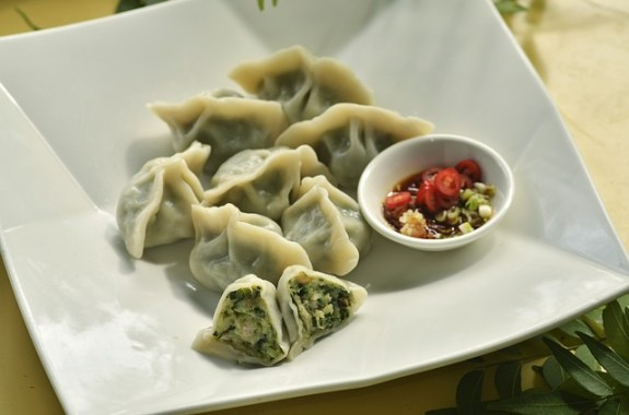 Vegetable Tofu Chinese Dumplings - Vegan Potstickers recipe by Christy Brissette media registered dietitian nutritionist President of 80 Twenty Nutrition in Chicago