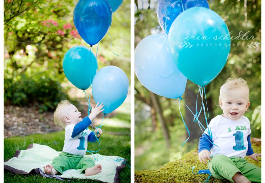 Aidan | 1st Birthday Session at the Seattle Arboretum