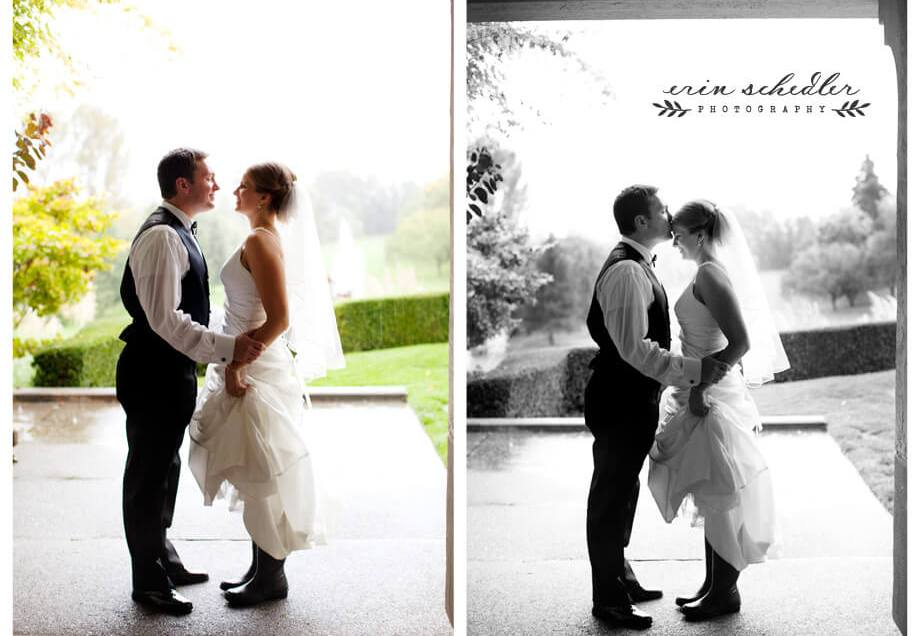 Lesley + Cody | Rainy Day Wedding at Broadmoor Golf Club