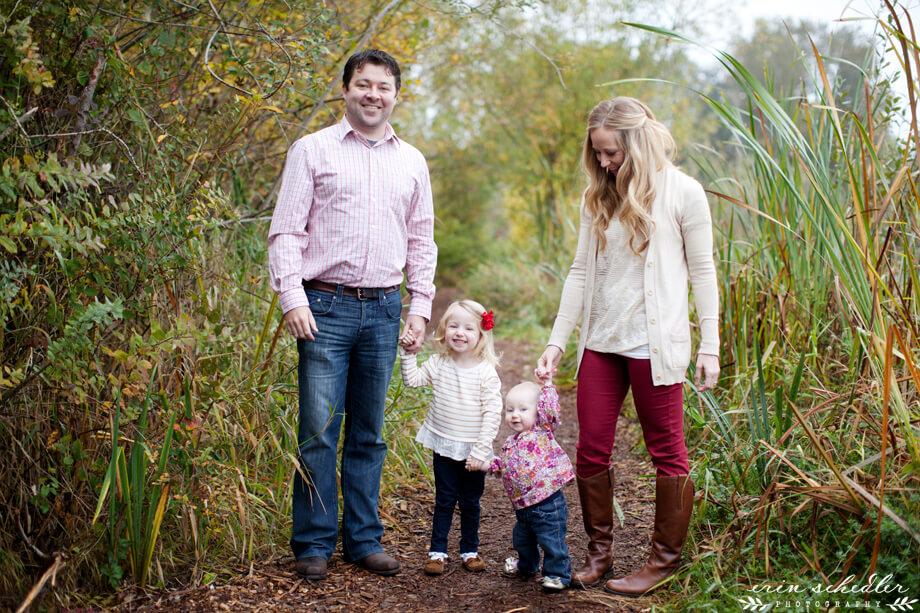 J Family   Holiday Session at Montlake Park