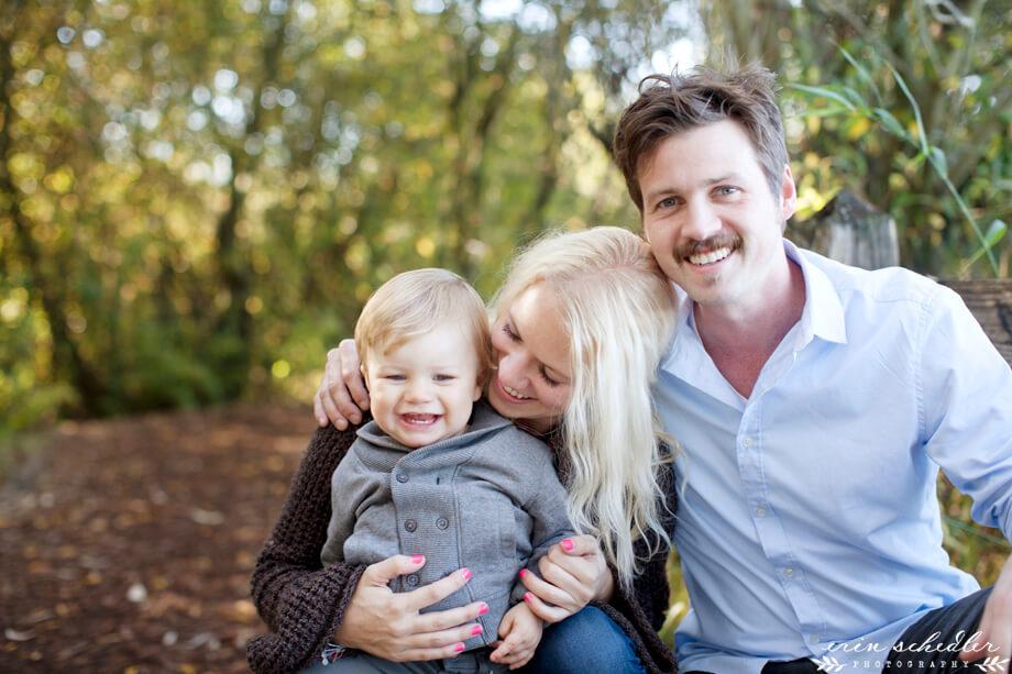 B Family Session | Montlake Park + Arboretum