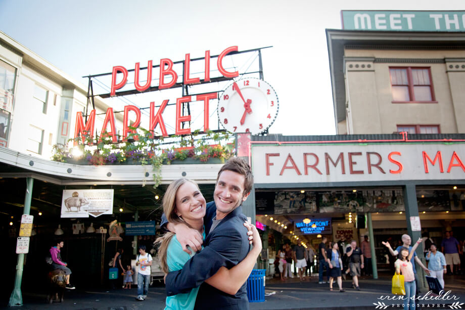 Annie + Andrew | Gasworks and Pike Place Engagement Session