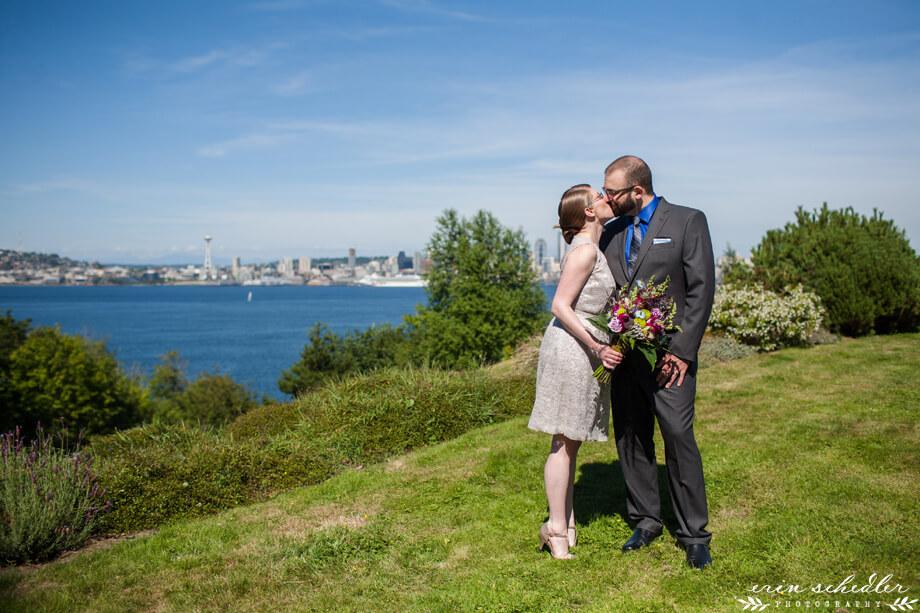 Allison + Tobie | Seattle Wedding at Hamilton Viewpoint Park and Dakota Place