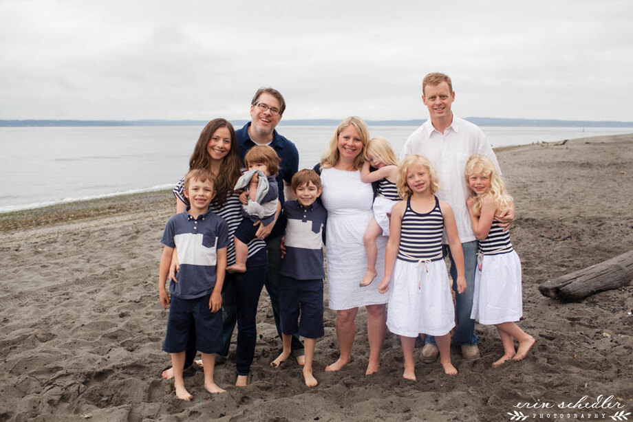 Seattle Family Photography Session | Golden Gardens
