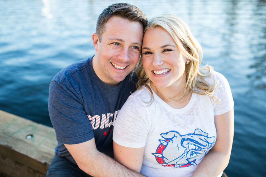 Dana + James Fremont Engagement Session // Seattle Wedding Photography