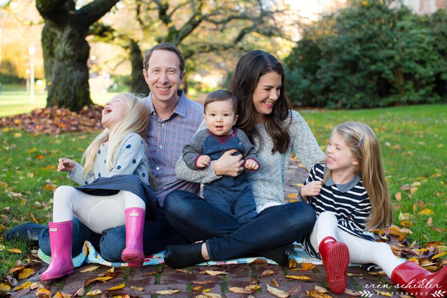 Fall Family Photos // UW Campus