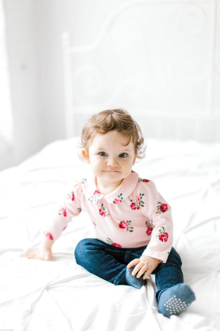 1 year studio baby photography